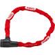 ABUS 5805K Steel-O-Chain lucchetto per bici rosso